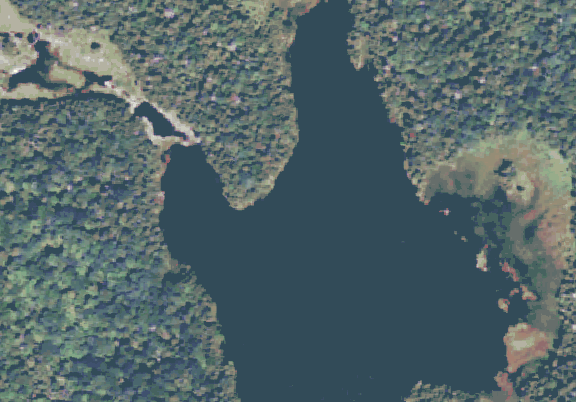 ChartSelect's contour preview for Big Mud Pond LakeMaster Layer