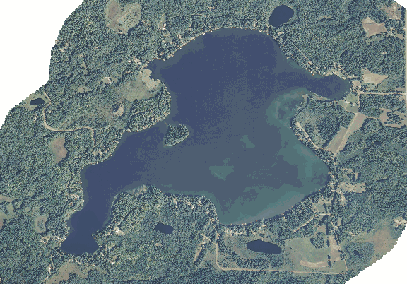 ChartSelect's contour preview for Big Pine LakeMaster Layer