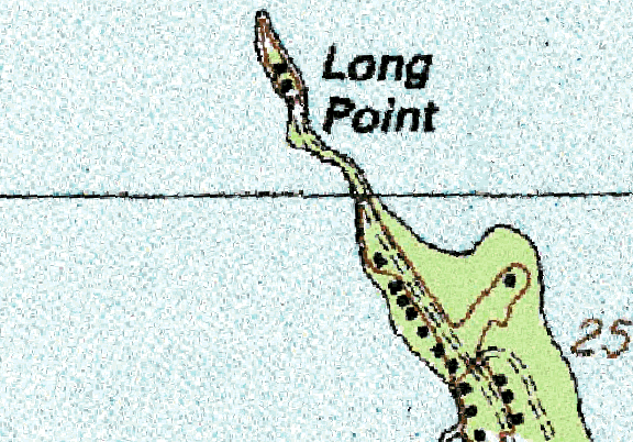 ChartSelect's contour preview for Big Pond LakeMaster Layer
