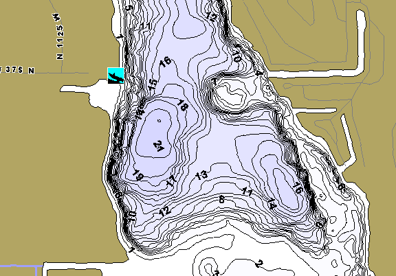 ChartSelect's contour preview for Cass LakeMaster HD Contour
