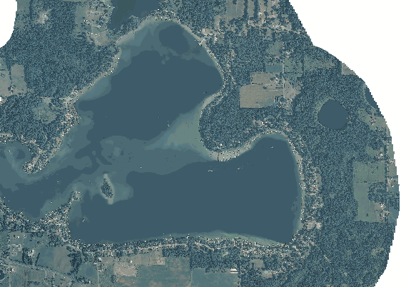 ChartSelect's contour preview for Round LakeMaster Layer