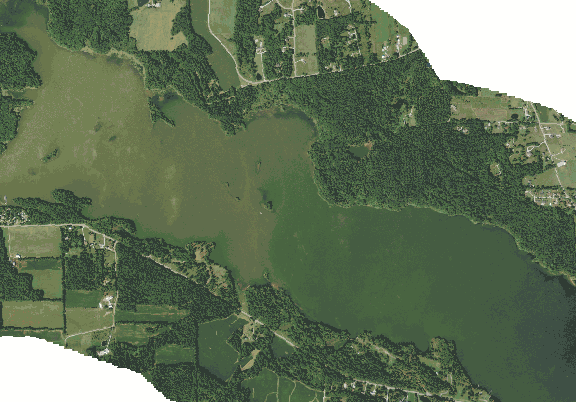 ChartSelect's contour preview for Clear Fork LakeMaster Layer