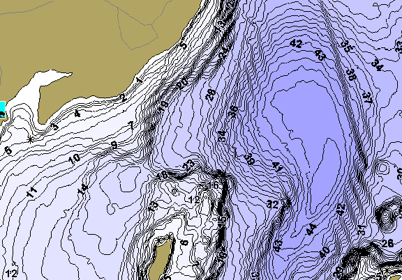 ChartSelect's contour preview for Cobboseecontee LakeMaster HD Contour
